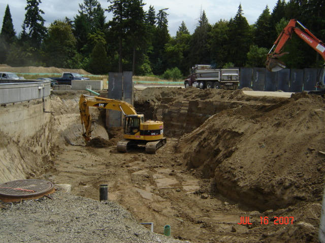 Rock Creek Secondary Clarifier - TEK Construction, Inc